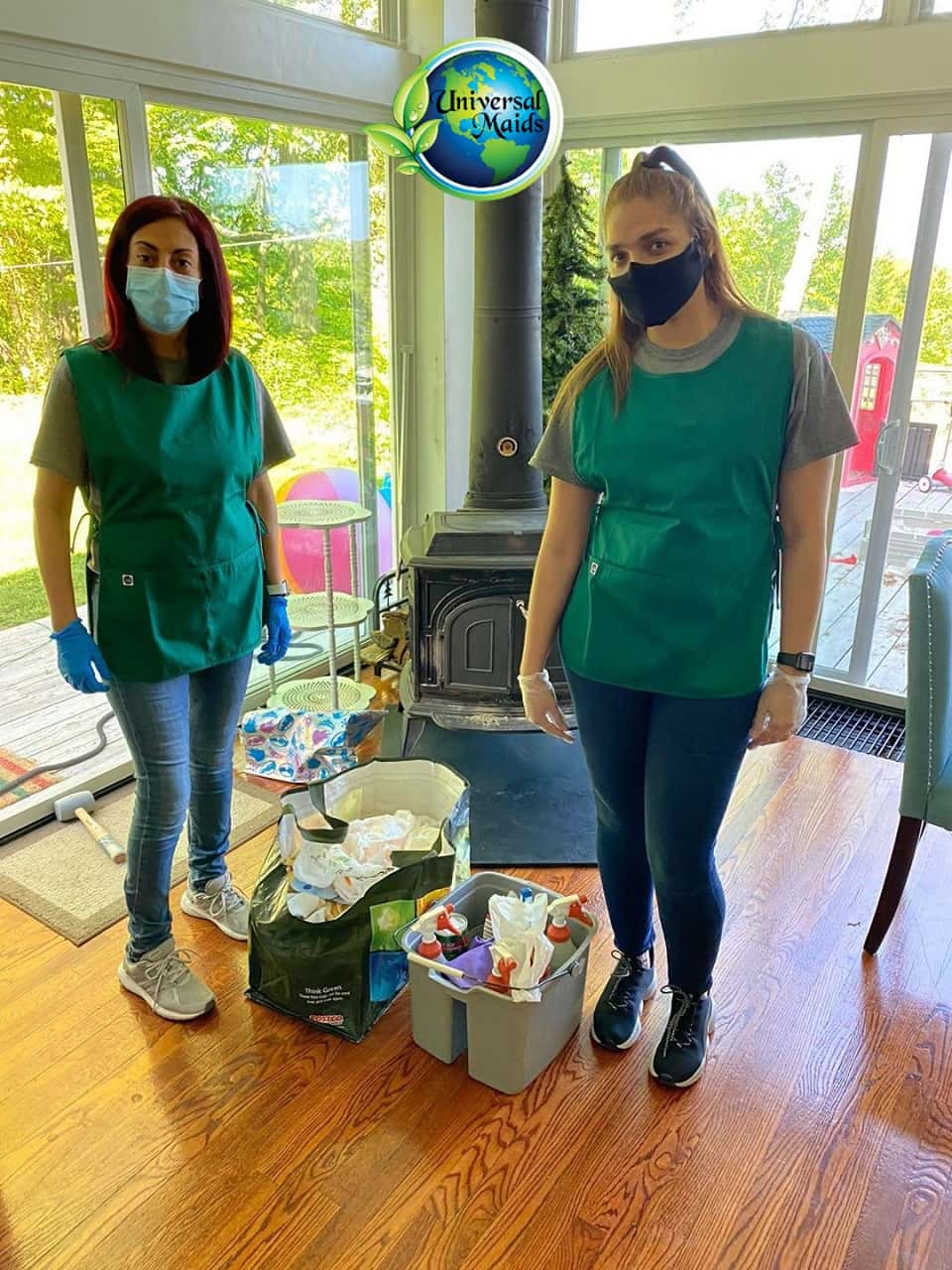 Maids and cleaning equipment